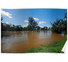 Wide Brown Murrumbidgee Poster