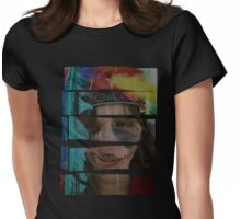 Indiantrigue Girlish Frivolity Womens Fitted T-Shirt