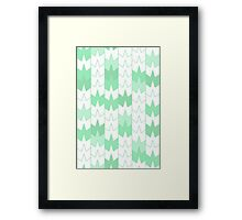 Maple Towers - Spring Framed Print