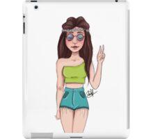 Hippie spirits iPad Case/Skin