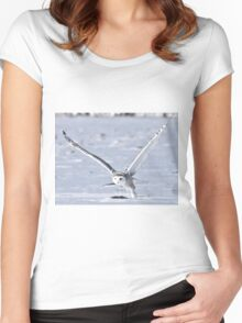 In A Hurry Women's Fitted Scoop T-Shirt