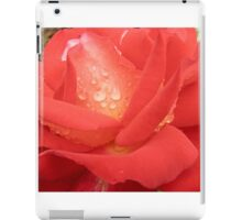Tequila Sunrise - Red Rose iPad Case/Skin