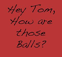 Tom Balls Red by TWCreation