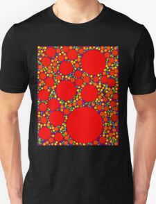Random Tiling Red T-Shirt