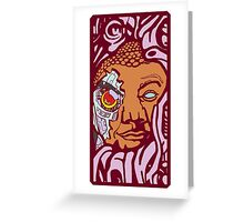 Epic Buddha Greeting Card