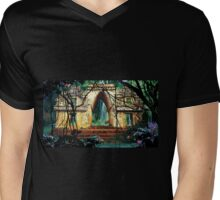 Temple of the Waters Mens V-Neck T-Shirt