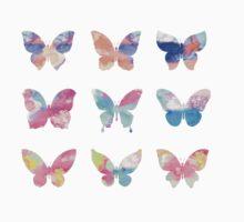 Watercolor Butterflies Kids Clothes