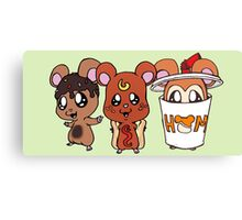 Food Hamsters Canvas Print