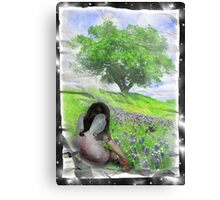 Enchanted Childhood Canvas Print