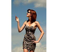 Retro Glamour Photographic Print