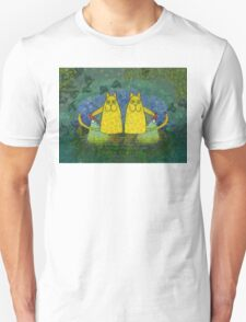 AMERICAN CATS WITH FLASHLIGHTS T-Shirt