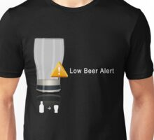 Low Beer Alert Unisex T-Shirt