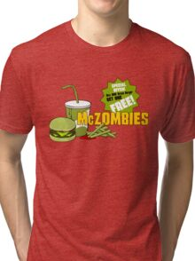 McZombies. Tri-blend T-Shirt