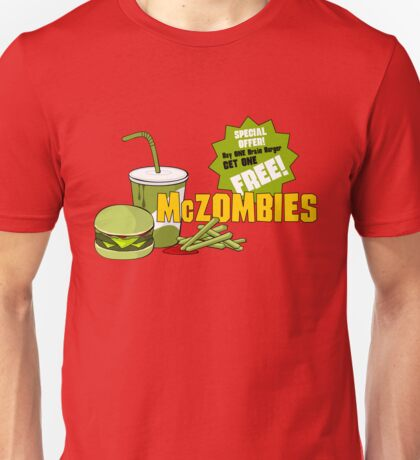 McZombies. Unisex T-Shirt