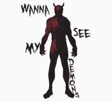 My Demons - Red by BigFluffyFozzie