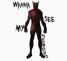 My Demons - Red Unisex T-Shirt