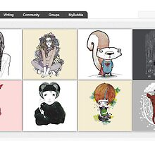 Art on Cotton - 8 September 2010 by The RedBubble Homepage