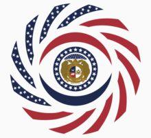 Missouri Murican Patriot Flag Series Kids Clothes