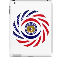Missouri Murican Patriot Flag Series iPad Case/Skin