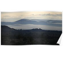 Lava Beds Wake Up Poster