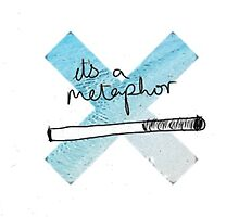 IT'S A METAPHOR TFIOS THE TAULT IN OUR STARS TUMBLR STICKER SHIRT BAG CASE by madebydidi