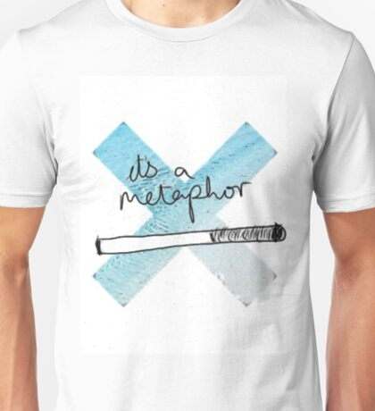 IT'S A METAPHOR TFIOS THE TAULT IN OUR STARS TUMBLR STICKER SHIRT BAG CASE Unisex T-Shirt