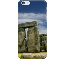 Stonehenge by Day iPhone Case/Skin