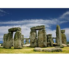 Stonehenge by Day Photographic Print