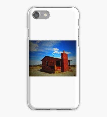 Desert shack iPhone Case/Skin