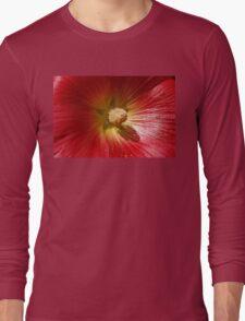 Floral Close Up Long Sleeve T-Shirt