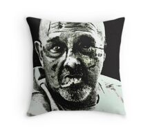 zombies run in the family Throw Pillow