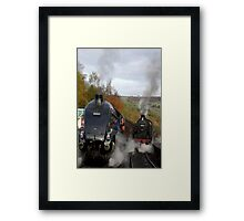 The Age of Steam Framed Print