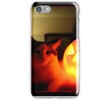 halloween kitten.  iPhone Case/Skin