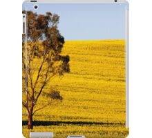 Canola Yellow iPad Case/Skin