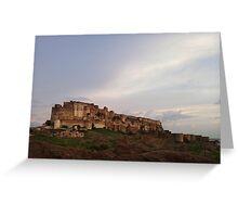 Jodhpur Fort Greeting Card