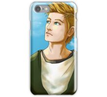 Blond Blue-Eyed iPhone Case/Skin