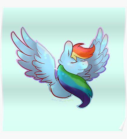 Rainbow Dashie Poster