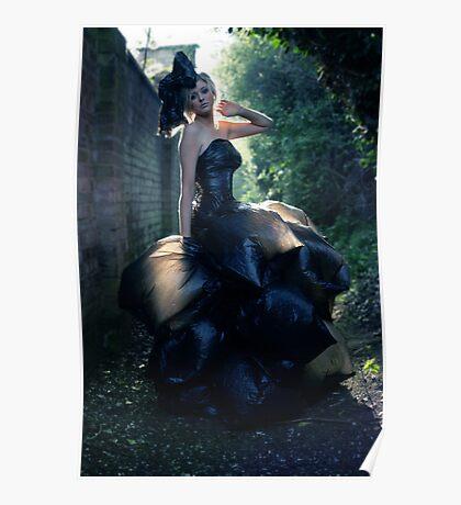 The Bin Bag Dress - Fashion Shoot Poster
