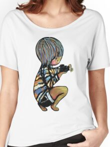 smile baby macro photography Women's Relaxed Fit T-Shirt