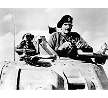 Monty In A Tank Photographic Print