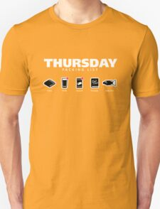 THURSDAY - The Hitchhiker's Guide to the Galaxy Packing List Unisex T-Shirt