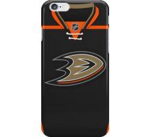 Anaheim Ducks Home Jersey iPhone Case/Skin