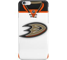 Anaheim Ducks Away Jersey iPhone Case/Skin