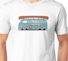 Slammed VW Barndoor (Full sign writing) Unisex T-Shirt