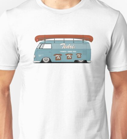 Slammed VW Barndoor (Full sign writing) T-Shirt