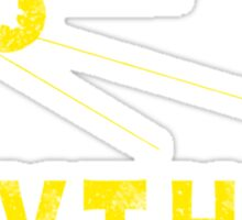 Sputnik Gold Sticker