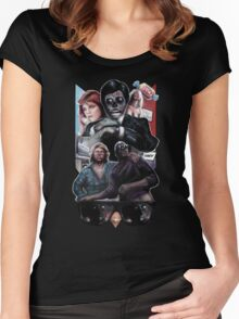 Nada and Frank and the truth of our alien overlords Women's Fitted Scoop T-Shirt
