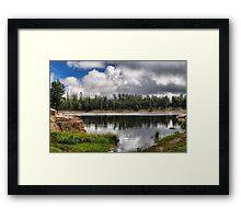 Morning Serenity Framed Print