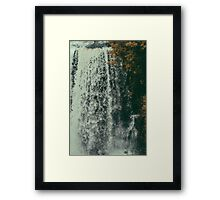 vermillion falls.  Framed Print