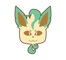 Leafeon by corruptedgem